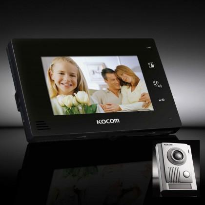 KOCOM: KCV-D374 Kit-Black